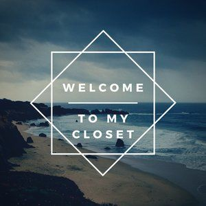 Welcome! Like this page to bookmark my closet!